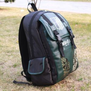 Зеленый рюкзак Атака Титанов