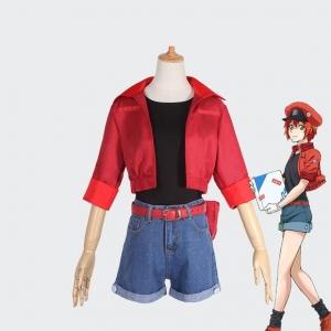 Косплей костюм Эритроцит Hataraku Saibou