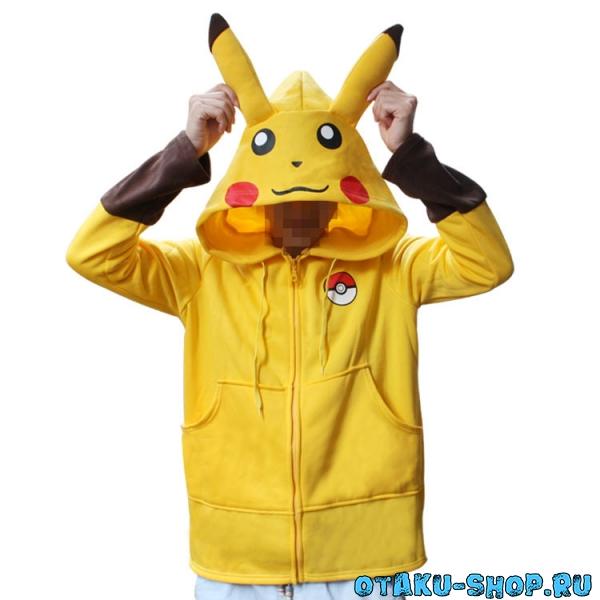 Купить Толстовка Pikachu Pokemon в аниме магазине с бесплатной доставкой 81f8a7d17c59d