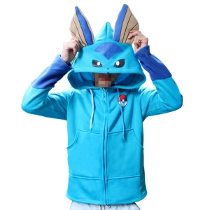 Толстовка Vaporeon Pokemon