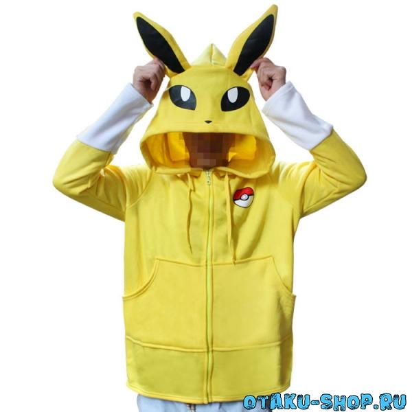 Купить Толстовка Jolteon Pokemon в аниме магазине с бесплатной доставкой 8396c56cd0112