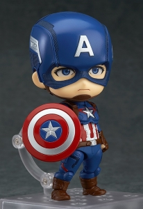 Фигурка нендороид Marvel Captain America