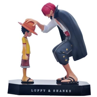 Фигурка Луффи и Шанкс One Piece