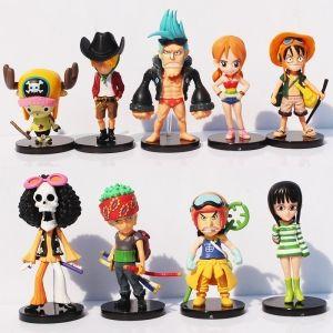 Набор 9 фигурок One Piece