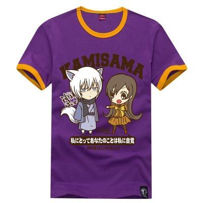 Фиолетовая футболка с Нанами и Томоэ