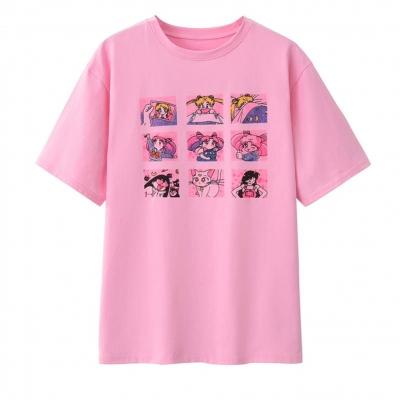 Футболка Sailor Moon Розовая