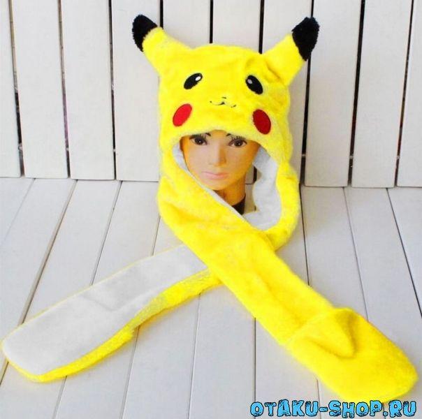 Купить Шапка с рукавицами Пикачу в аниме магазине с бесплатной доставкой 13a0d41ba562d