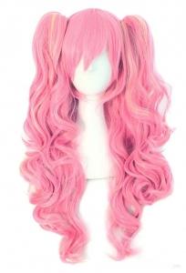 Парик Лолита розовый