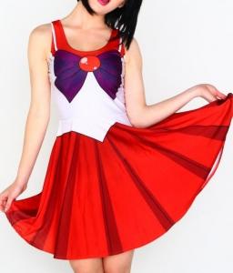 Sailor Moon платье Сэйлор Марс