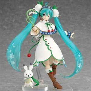 Рождественская фигурка Hatsune Miku