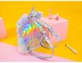 дополнительные фото Пушистый рюкзак Unicorn Hologram