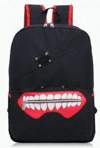 Рюкзак с изображением маски Tokyo Ghoul