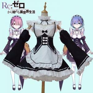 Косплей форма Рам и Рем Re: Zero