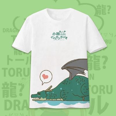 Футболка дракон Тору Kobayashi-san Chi no Maid Dragon