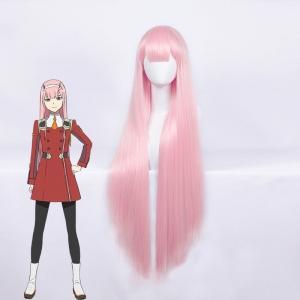 Парик Zero Two розовый