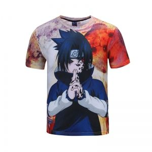 Футболка Саске Naruto