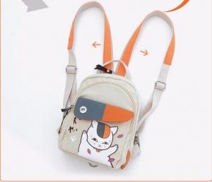 Миниатюрный рюкзак Тетрадь дружбы Нацумэ