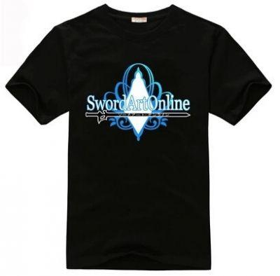 "Черная майка ""Sword Art Online"""