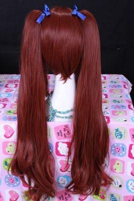 Волнистый парик с длинными хвостиками