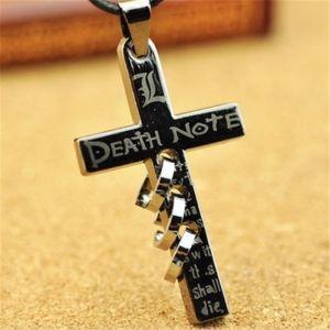 Кулон-крест Death Note