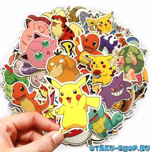 Купить Набор стикеров Pokemon в аниме магазине с бесплатной доставкой 7eba23471d129