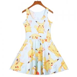 Платье с Пикачу