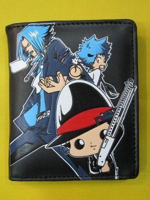 Бумажник с героями аниме «Учитель-мафиози Реборн!»