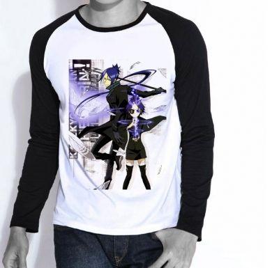 Удобная футболка с длинными рукавами с персонажами «Учителя-мафиози Реборн!»