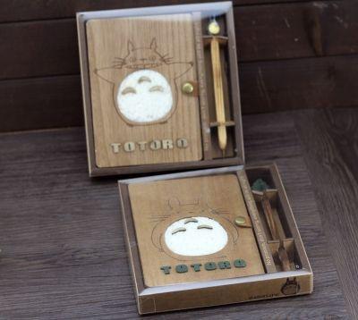Набор ручной работы артбук и ручка Тоторо