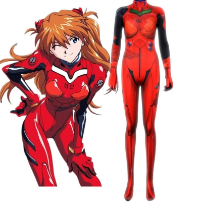Косплей костюм Асука Evangelion