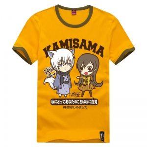 Оранжевая футболка с Нанами и Томоэ