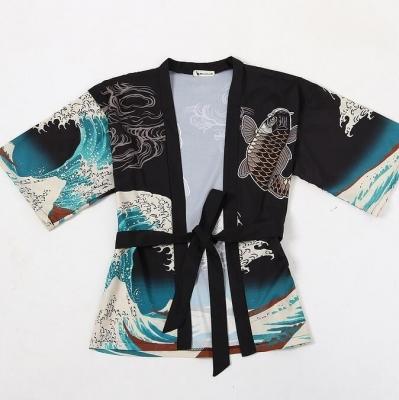 Рубашка-кимоно Волны