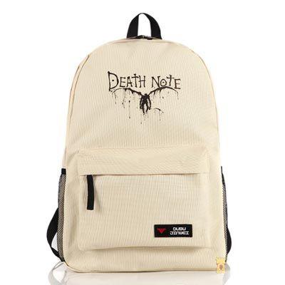 Бежевый рюкзак Тетрадь Смерти