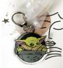 дополнительные фото Брелок Мандалорец с маленьким Йодой