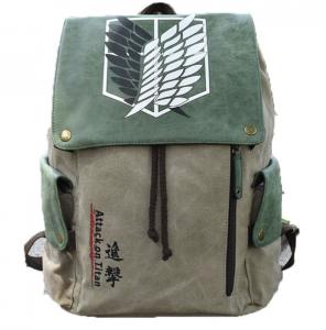 Рюкзак с эмблемой разведотряда из аниме «Атака Титанов»
