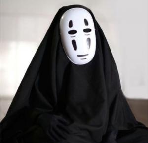 Косплей костюм Безликий Бог Каонас из Унесенные Призраками