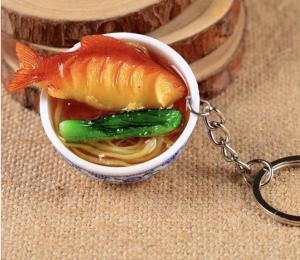 Брелоки с азиатской едой