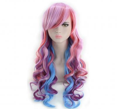 Цветные парики
