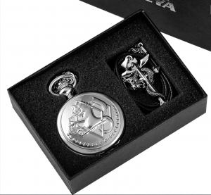 Часы, кулон и кольцо Эдварда Элрика из «Стального Алхимика»
