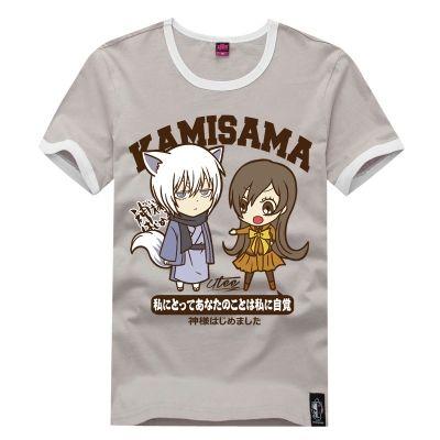 Серая футболка с Нанами и Томоэ