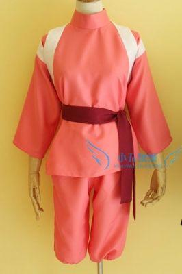 Косплей костюм Тихиро Унесенные призраками