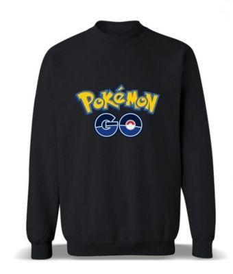 Черная толстовка Pokemon Go