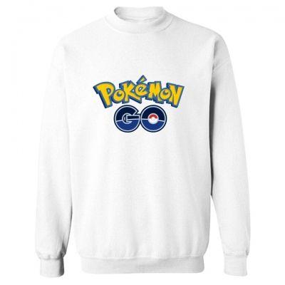 Белая толстовка Pokemon Go