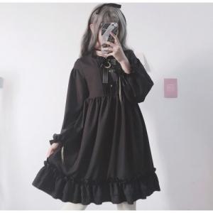Готическое лоли-платье